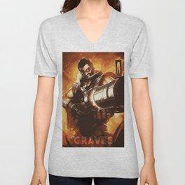 Graves Unisex V-Neck