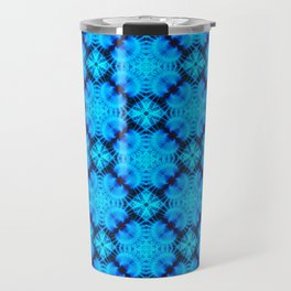 Blue Fans of Japan Travel Mug