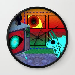 Sunday Night Dream Wall Clock