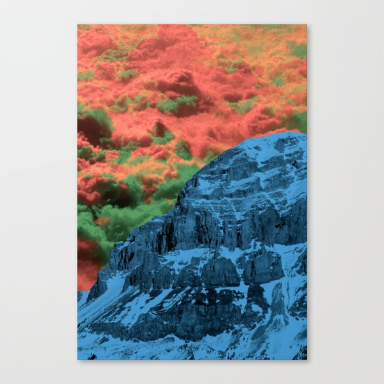 To the End of Mankind Canvas Print