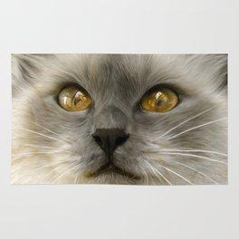 """Cute Kitty (Love cats)"" Rug"