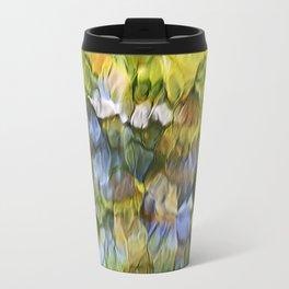Sycamore Mosaic Abstract Art Travel Mug