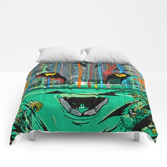 Wolf Mother - Screen Print Edition  Comforters