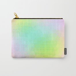 Dimensional Pastel Scales Carry-All Pouch
