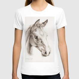 Colt pencil drawing T-shirt