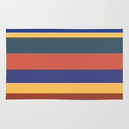 Color Band 70's - B - Stripe Rug