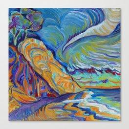 Loon Point, Santa Barbara Canvas Print