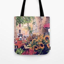 Market Days In France Tote Bag
