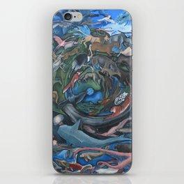 Animal Mandala iPhone Skin