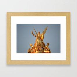 Harmonie - Details of Paris Series Framed Art Print