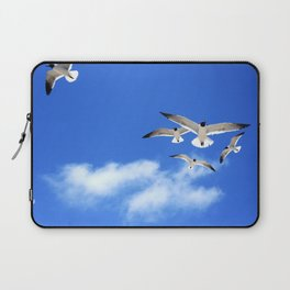 Beach Birds Laptop Sleeve