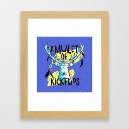 Amulet of Kickflips Framed Art Print
