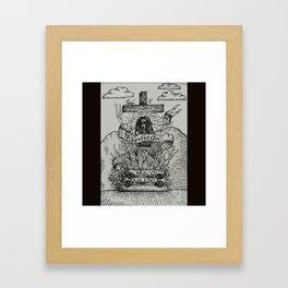 Witchburning Framed Art Print
