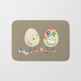 Easter eggs Bath Mat