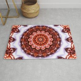 Aragonite Mandala Rug