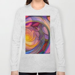 When Bubbles Collide Long Sleeve T-shirt