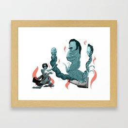 Demon Summoner Framed Art Print