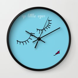 Little Eyes Wall Clock