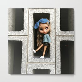 Cinder(block)ella Metal Print