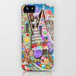 The Gingerbread Mansion iPhone Case