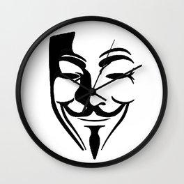 Guy Fawkes Wall Clock