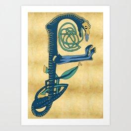 Celtic Each Uisge Art Print