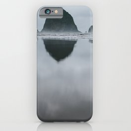Cannon Beach Reflection iPhone Case