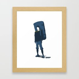 pad friend Framed Art Print