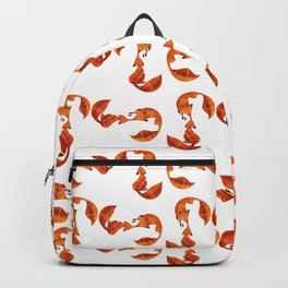 Kissing foxes Backpack