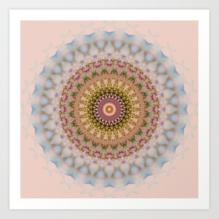 MANDALA NO. 21 #society6 Art Print