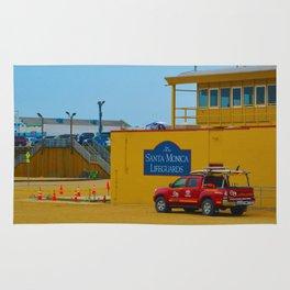 Santa Monica Lifeguards Rug