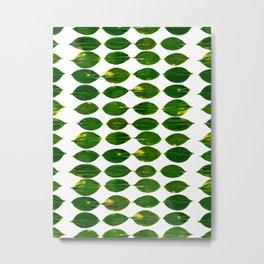 Still a Little Green Metal Print