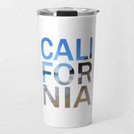California Print, California Poster, California Wall Art, Travel Mug