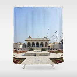 Amber Fort Shower Curtain