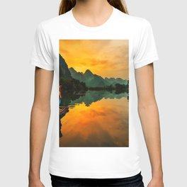 Sunrise on the Lake (Color) T-shirt