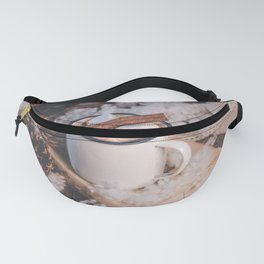 Hot Chocolate on a Winter's Day Fanny Pack
