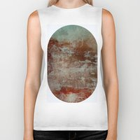 lake Biker Tanks featuring lake by abstractgallery