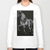 horse Long Sleeve T-shirts featuring Horse  by Saundra Myles