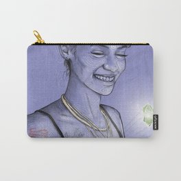 Jade Gemstone Carry-All Pouch