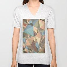 Renaissance Triangle Pyramids Unisex V-Neck