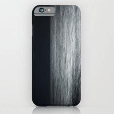 Moonlit Sea with Horizon -- Monochrome iPhone 6s Slim Case