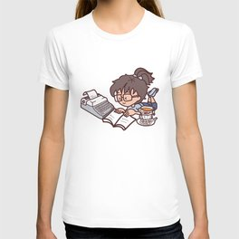 Books, tea and relax T-shirt