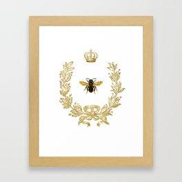 Queen Bee Gerahmter Kunstdruck