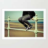 vans Art Prints featuring Vans by Zsolt Kudar