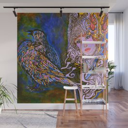RAVENS #society6 #decor #buyart Wall Mural