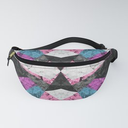 Marble Geometric Background G438 Fanny Pack