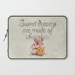 Sweet dreams are made of chocolate Laptop Sleeve