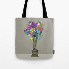 Fleur de Mechanique Tote Bag