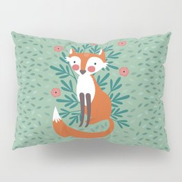 Fox In The Woods Pillow Sham