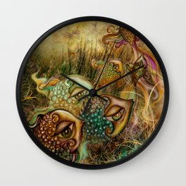 Metamorfosis/Metamorphosis Wall Clock